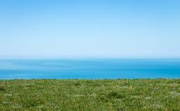Bella vista sul mare nell'Oceano Atlantico Fotografia Stock