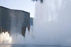 Фонтаны танцев Лас-Вегас Bellagio Стоковое Изображение