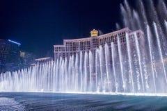 Фонтаны Лас-Вегас, Bellagio Стоковые Изображения