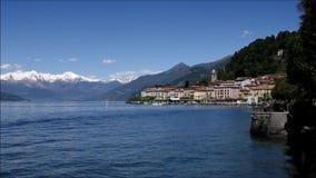 Bellagio auf See Como, Lombardei stock video