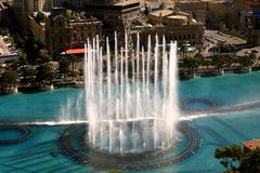 Bellagio-Brunnen Lizenzfreie Stockfotos