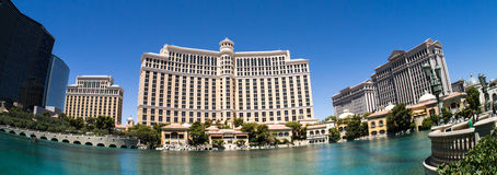 Bellagio Casino and Hotel Las Vegas Panoramic Royalty Free Stock Image