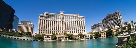 Bellagio Casino and Hotel Las Vegas Panoramic Royalty Free Stock Image