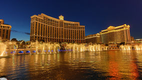 Bellagio casino, las vegas Stock Photography