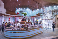 Bellagio Chocolate Fountain royalty free stock image