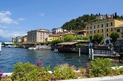 bellagio como jezioro zdjęcie royalty free