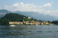 Bellagio. By the como lake in italy Royalty Free Stock Images