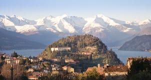 Bellagio, Como-meer Stock Afbeeldingen