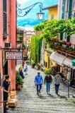 Bellagio Como meer - Italië 2016 Stock Afbeelding
