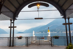 Bellagio Dock Royalty Free Stock Photography