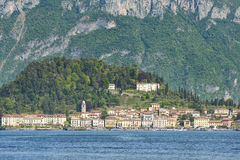 Bellagio e lago di como Immagine Stock