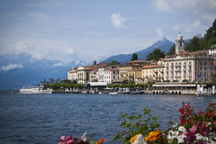 Bellagio en el lago Como foto de archivo