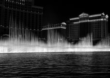 Bellagio fontanna w Las Vegas obrazy stock