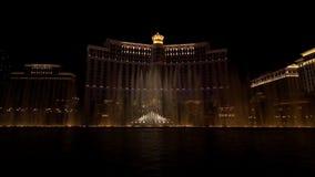 Bellagio fontanny przedstawienie zbiory