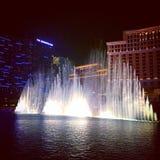 Bellagio fontanny wewnątrz Obraz Stock