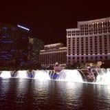 Bellagio fontanny wewnątrz Zdjęcia Royalty Free