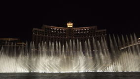 Bellagio Fountain Show Royalty Free Stock Image