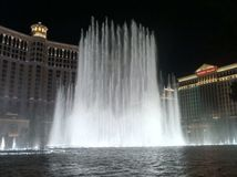 Bellagio fountain Stock Photo
