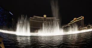 Bellagio fountain show Royalty Free Stock Photo