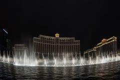 Bellagio fountain show Stock Photography