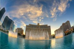 Bellagio fountains Royalty Free Stock Image