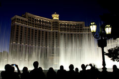 Bellagio fountains Royalty Free Stock Photos
