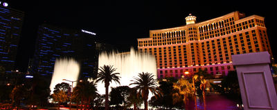 Bellagio Fountains Stock Image