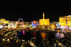 Bellagio fountains Las Vegas Stock Photos