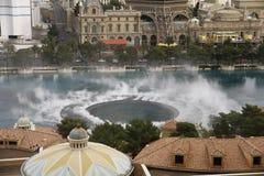 Bellagio Fountains show ,LasVegas Nevada America Royalty Free Stock Images