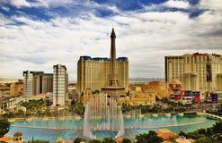 Bellagio Fountains show ,LasVegas Nevada America Stock Photography