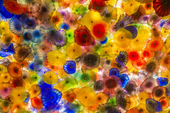 Bellagio glass flowers Royalty Free Stock Photography