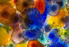 Bellagio glass flowers Stock Photos