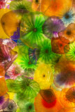 Bellagio glass flowers Royalty Free Stock Photos