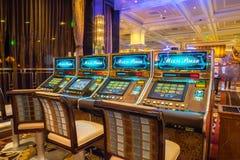 Bellagio Hotel and Casino electronic poker machine Stock Photo