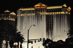 Bellagio hotel & casino fountains in Las Vegas Stock Photo
