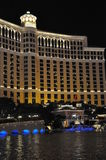 Bellagio hotel & casino fountains in Las Vegas Royalty Free Stock Photography