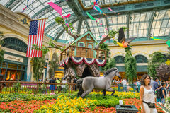 Bellagio Hotel and Casino indoor garden Royalty Free Stock Photography