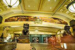Bellagio Hotel and Casino lobby entrance Stock Photo