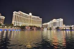 Bellagio Hotel and Casino, reflection, waterway, water, body of water. Bellagio Hotel and Casino is reflection, body of water and city. That marvel has waterway stock image