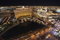 Bellagio Hotel and Casino, The Strip, metropolitan area, structure, geographical feature, city stock photo