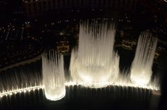 Bellagio Hotel and Casino, water, light, lighting, fountain. Bellagio Hotel and Casino is water, fountain and darkness. That marvel has light, water feature and stock image