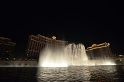 Bellagio Hotel and Casino, water, fountain, landmark, night. Bellagio Hotel and Casino is water, night and light. That marvel has fountain, water feature and stock images