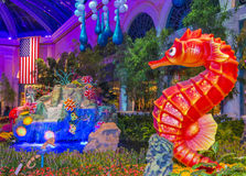 Bellagio Hotel Conservatory & Botanical Gardens Stock Images