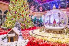 Bellagio Hotel Conservatory & Botanical Gardens Royalty Free Stock Images