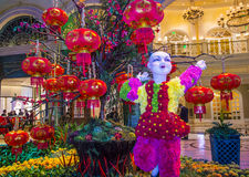 Bellagio Hotel Conservatory & Botanical Gardens Stock Images