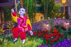 Bellagio Hotel Conservatory & Botanical Gardens Royalty Free Stock Image