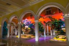 Bellagio Hotel Conservatory & Botanical Gardens Royalty Free Stock Photos