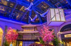 Bellagio Hotel Conservatory & Botanical Gardens Stock Photos
