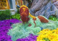 Bellagio Hotel Conservatory & Botanical Gardens Royalty Free Stock Photography