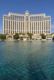 The Bellagio hotel exterior in day time. Stock Photo